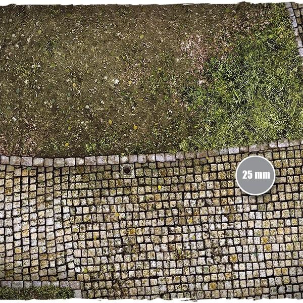 cobblestone streets game mat 1
