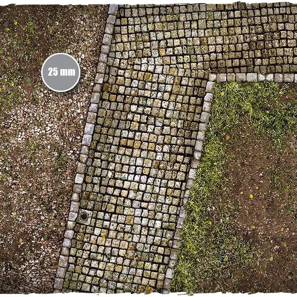 cobblestone streets game mat 2