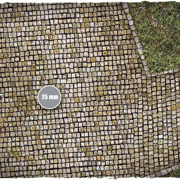cobblestone streets game mat 3