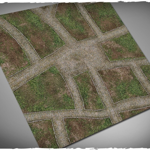 dave graffam cobblestone streets games mat 4x4