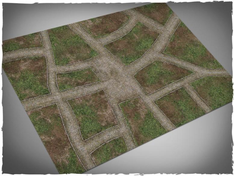 dave graffam cobblestone streets games mat 4x6
