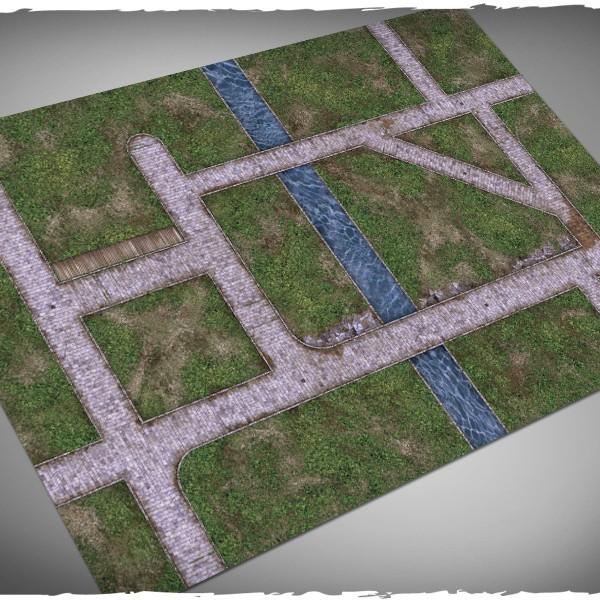 dave graffam rakes corner games mat 4x6