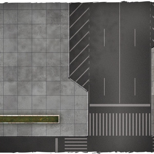 dropzone commander miniature game play mat 1
