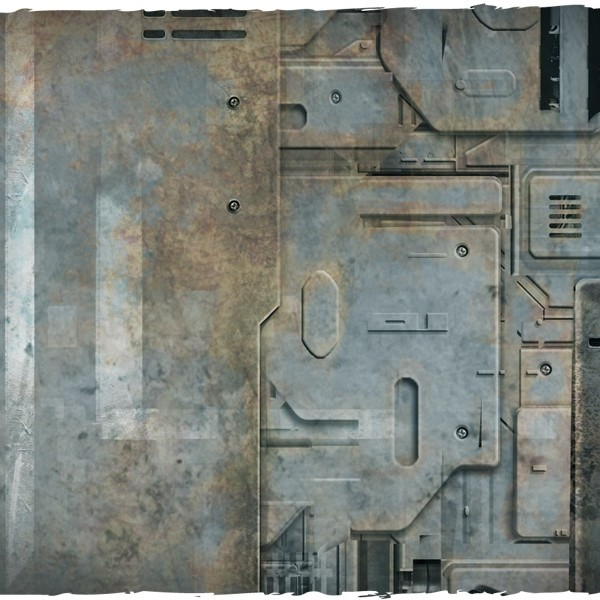 miniature game mat space hulk theme 3