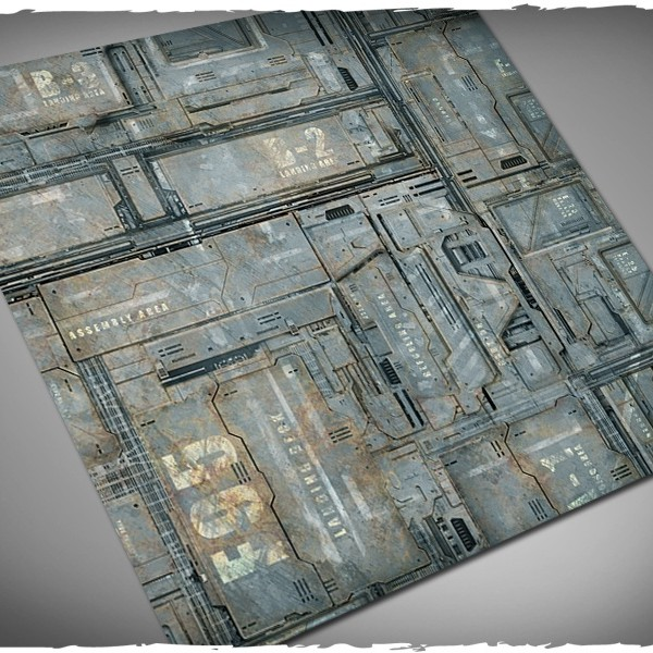 miniature game mat space hulk theme 4x4