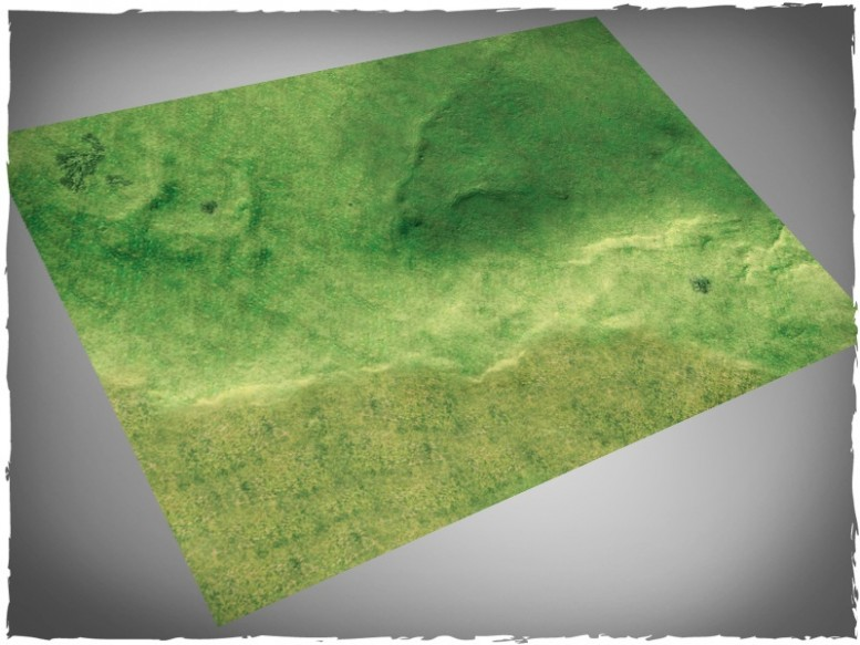 miniature games gaming mat fields grass plains 4x6