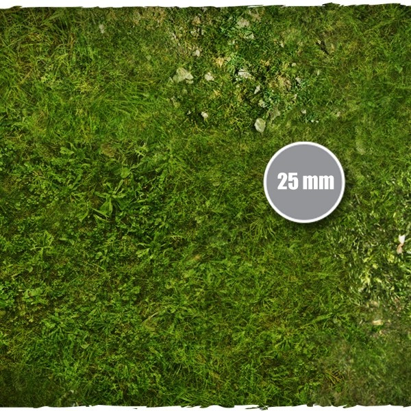 wargames miniature games play mat grass 1