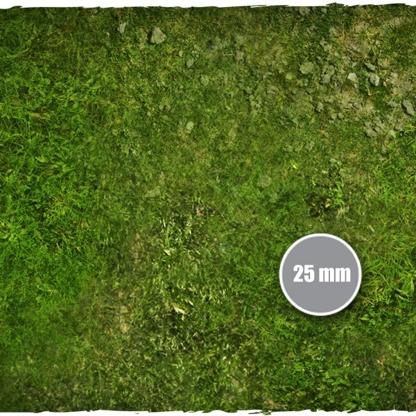 wargames miniature games play mat grass 2