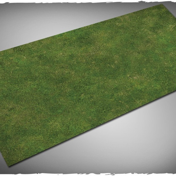 wargames miniature games play mat grass 3x6