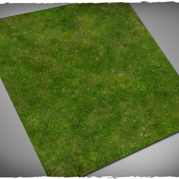 wargames miniature games play mat grass 4x4