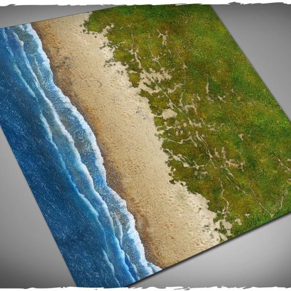 wargames play mat beach d-day 4x4