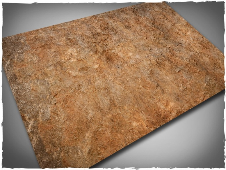 wargaming terrain mat badlands 4x6