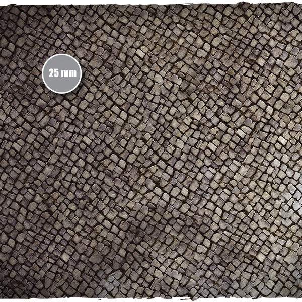 wargaming terrain mat cobblestone 5