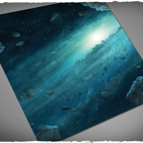x-wing asteroid field gaming mat 3x3