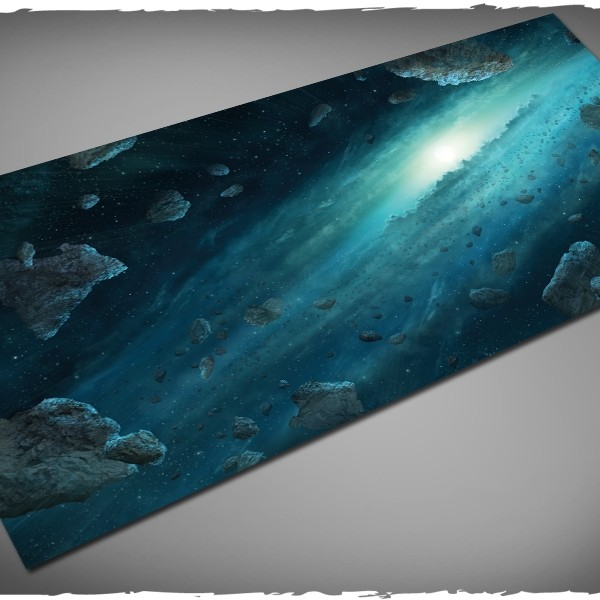 x-wing asteroid field gaming mat 3x6