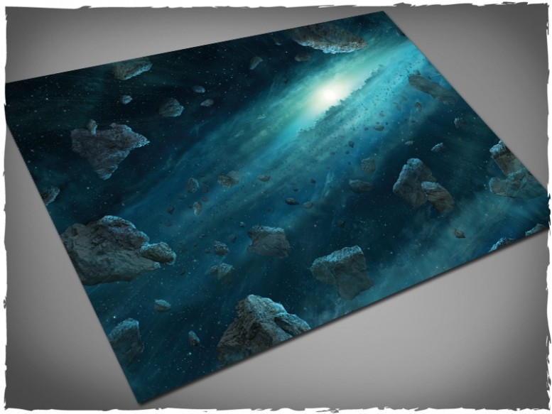 x-wing asteroid field gaming mat 4x6