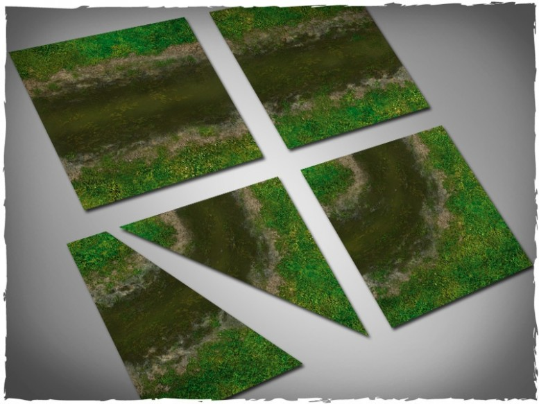 miniature game terrain tiles dirty river 1