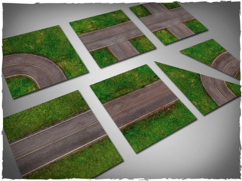scenery game tiles tarmac highway 1