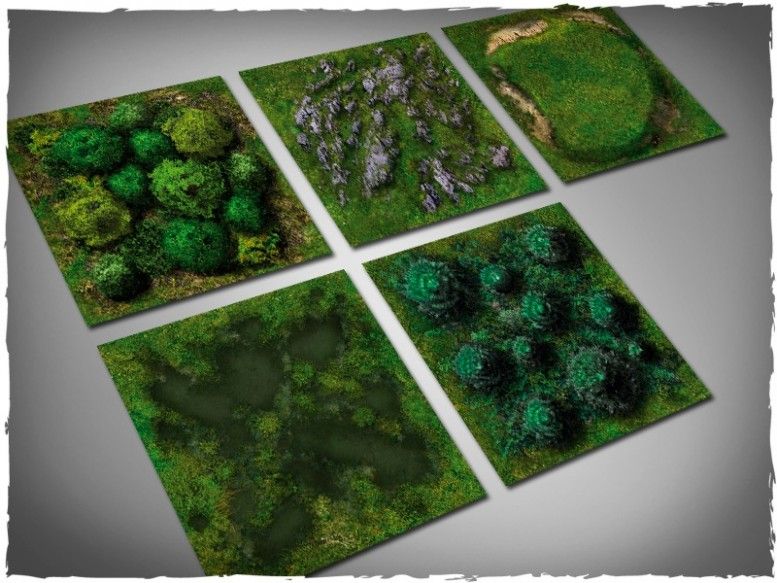 terrain tiles green nature forest 1