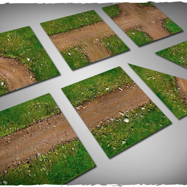 terrain wargames tiles dirt path 1