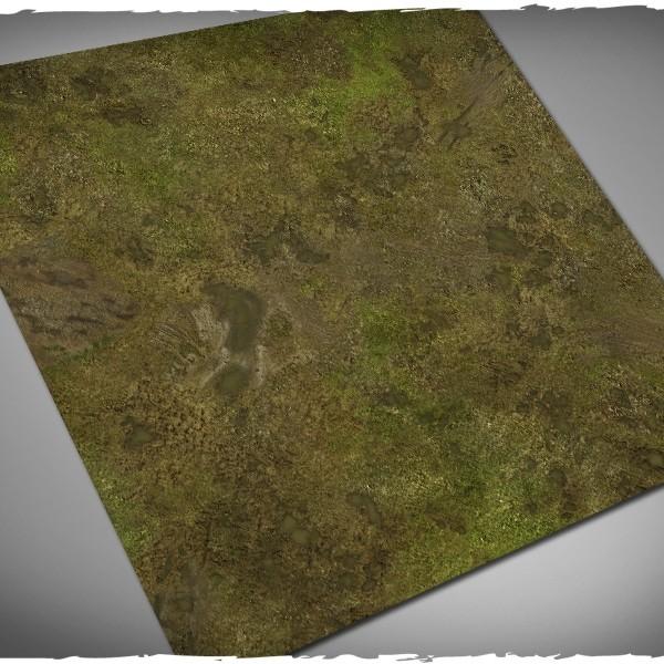 muddy fields battleboard playmat 3x3