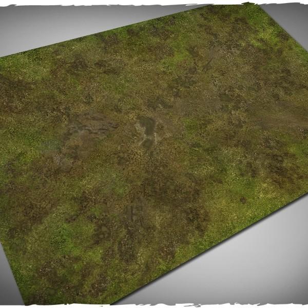 muddy fields battleboard playmat 4x6