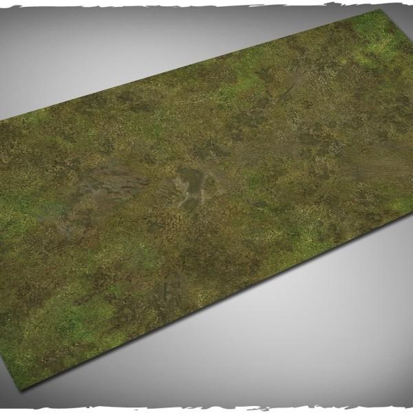 muddy fields battleboard playmat for runewars 3x6