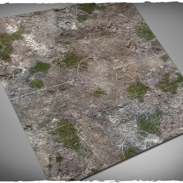 guild ball game mat ancient medieval city ruins 1