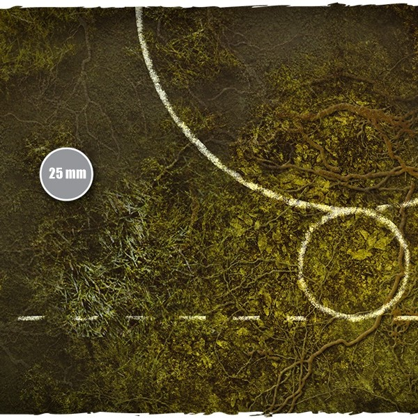 guild ball playmat swamp bog 3