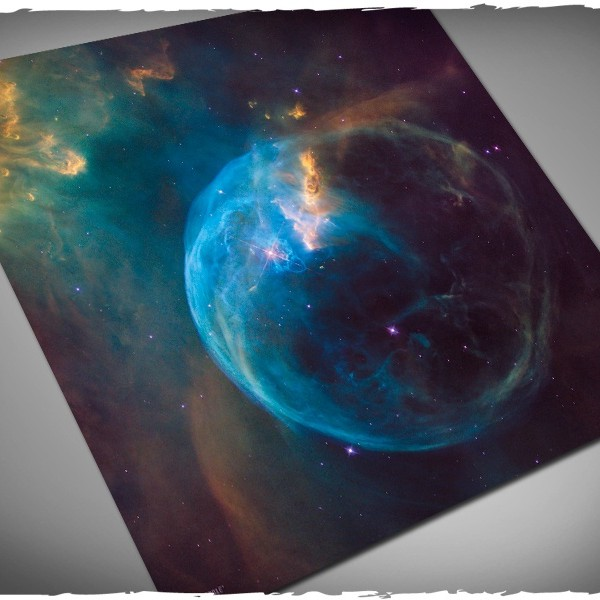 limited edition space gaming mat bubble nebula 1