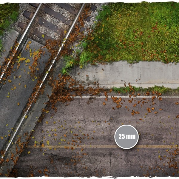 walking dead town game mat 2