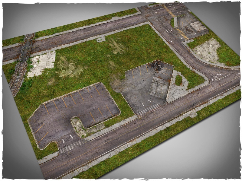 Game Mat Walking Dead Town Deepcut Studio