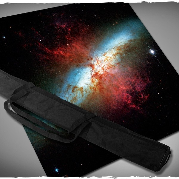messier 82 starburst galaxy limited edition x-wing game mat 3x3