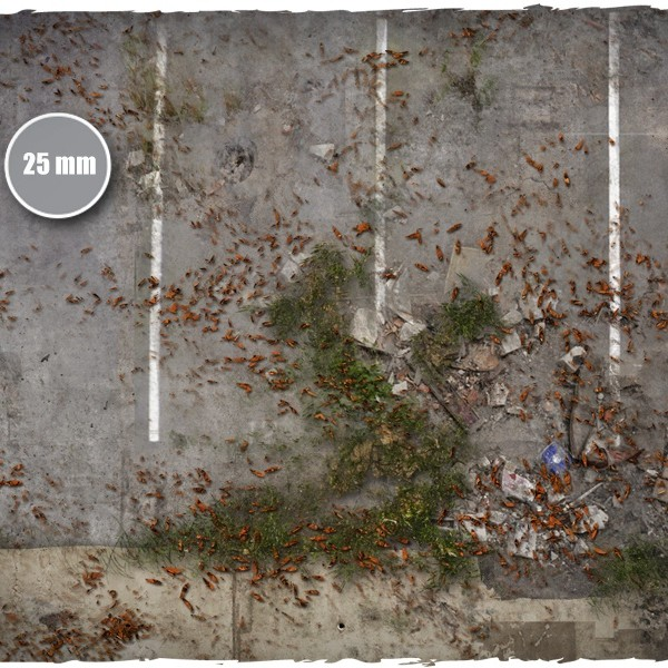 walking dead city game mat 2