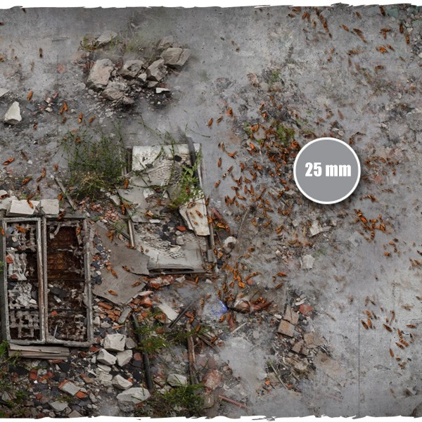 walking dead city game mat 3
