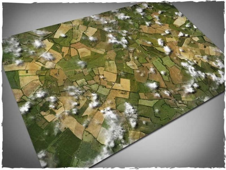 aerial fields game gaming mat playmat for wings of glory 4x6