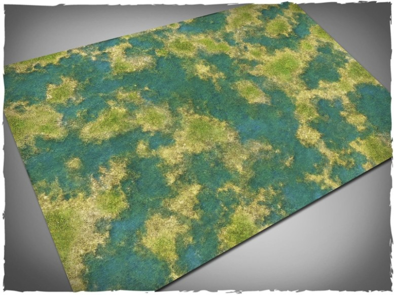 tropical swamp mangroves game mat for pirates 6x4