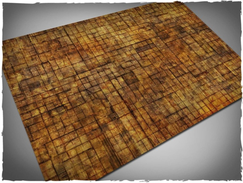 underhive game mat for necromunda 6x4