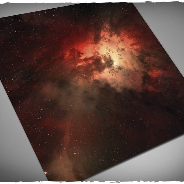 nebula game mat play mat for x-wing or attach wing 3x3