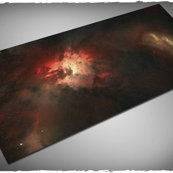 nebula game mat play mat for x-wing or attach wing 6x3