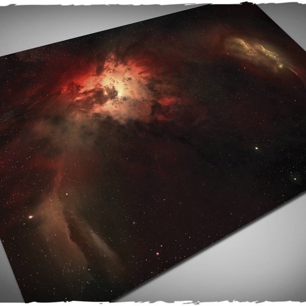 nebula game mat play mat for x-wing or attach wing 6x4