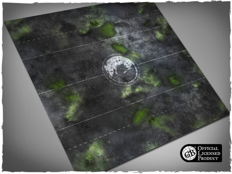guild ball ratcatchers game mat playmat