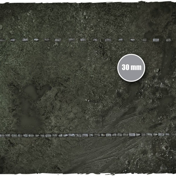 guild ball morticians game mat playmat 3