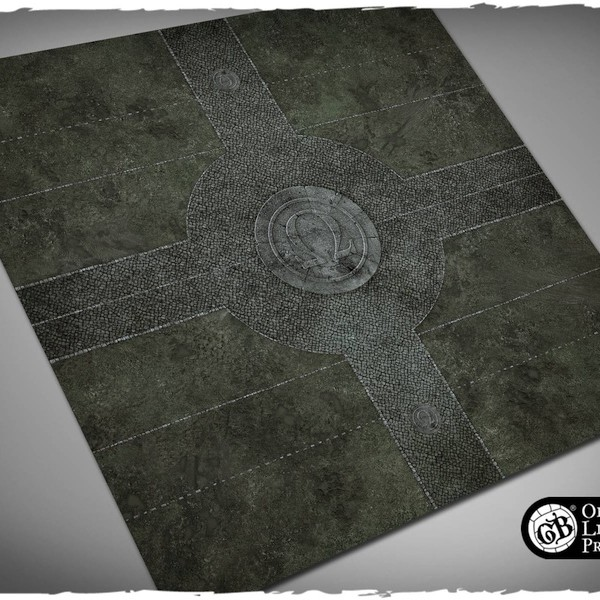 guild ball morticians game mat playmat