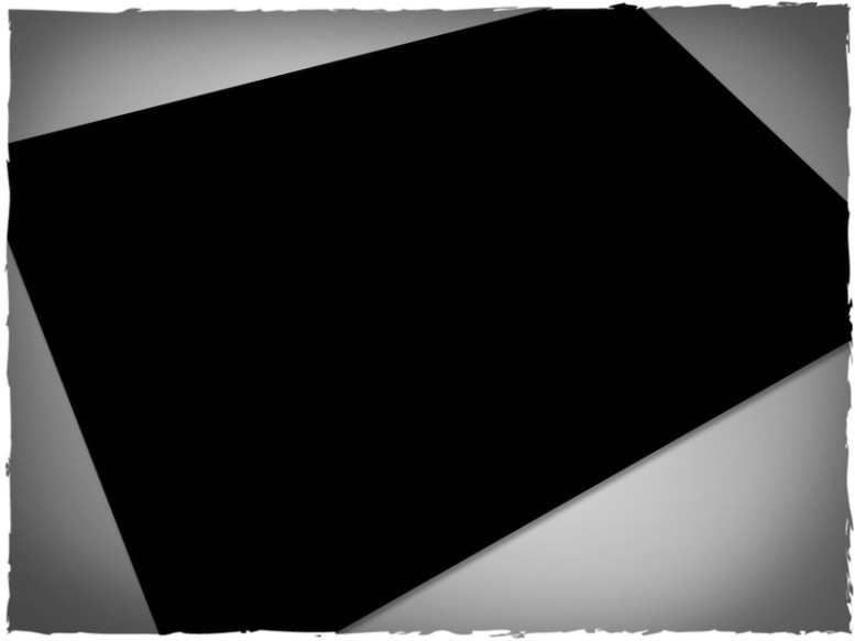abyss black game mat playmat