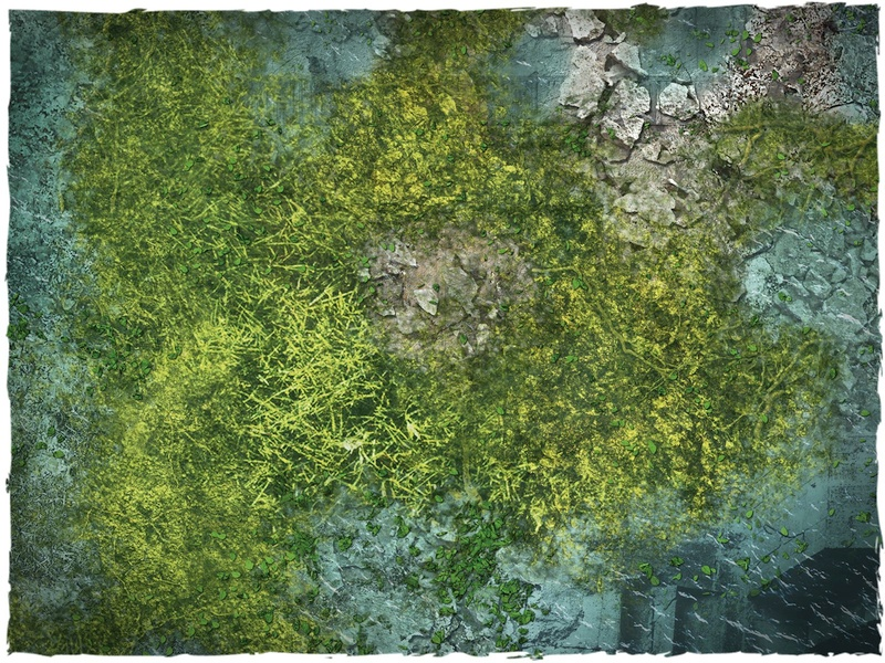 Game mat - Drowned Earth