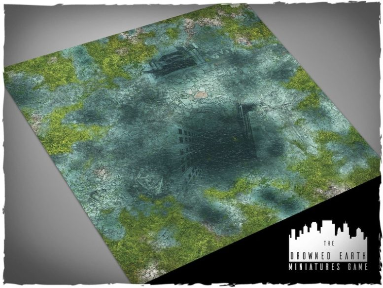 Drowned Earth game mat
