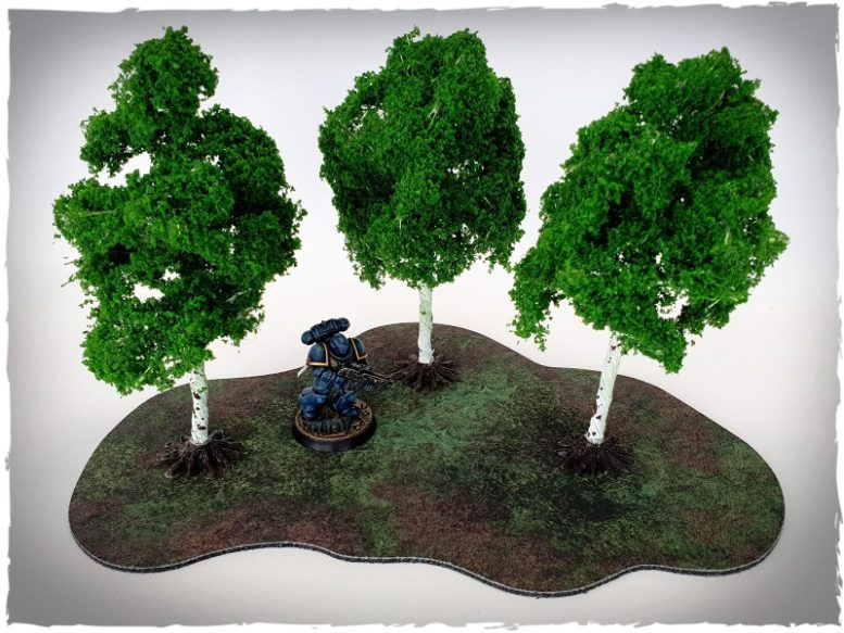 Model trees - 15 mm scale, birch | DeepCut Studio