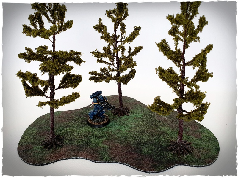 Model trees - 32 mm scale, pine